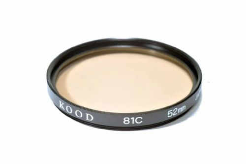 High Quality Optical Glass 81C Filter Made in Japan 52mm Kood